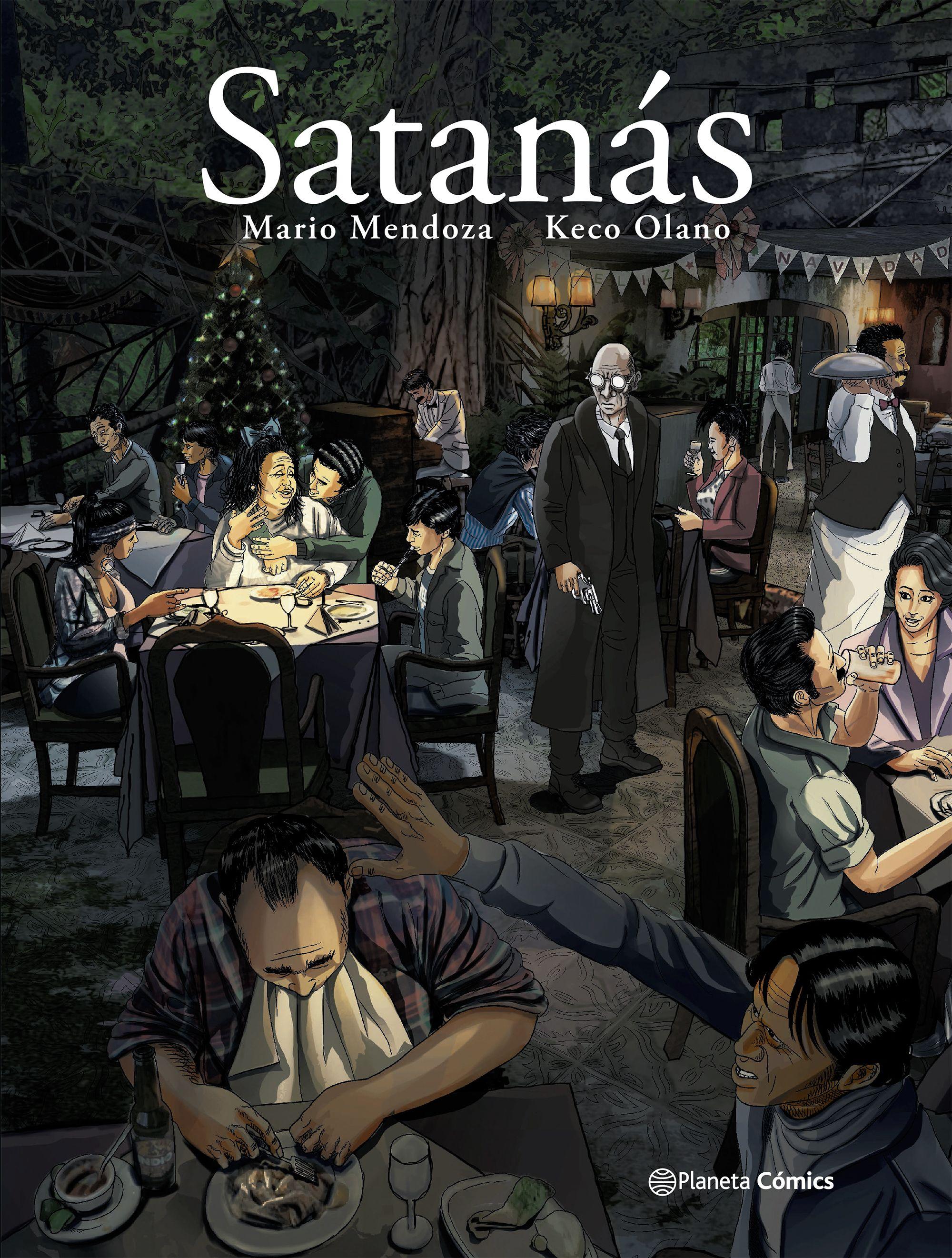 Satanás - Mario Mendoza - Planeta Comic