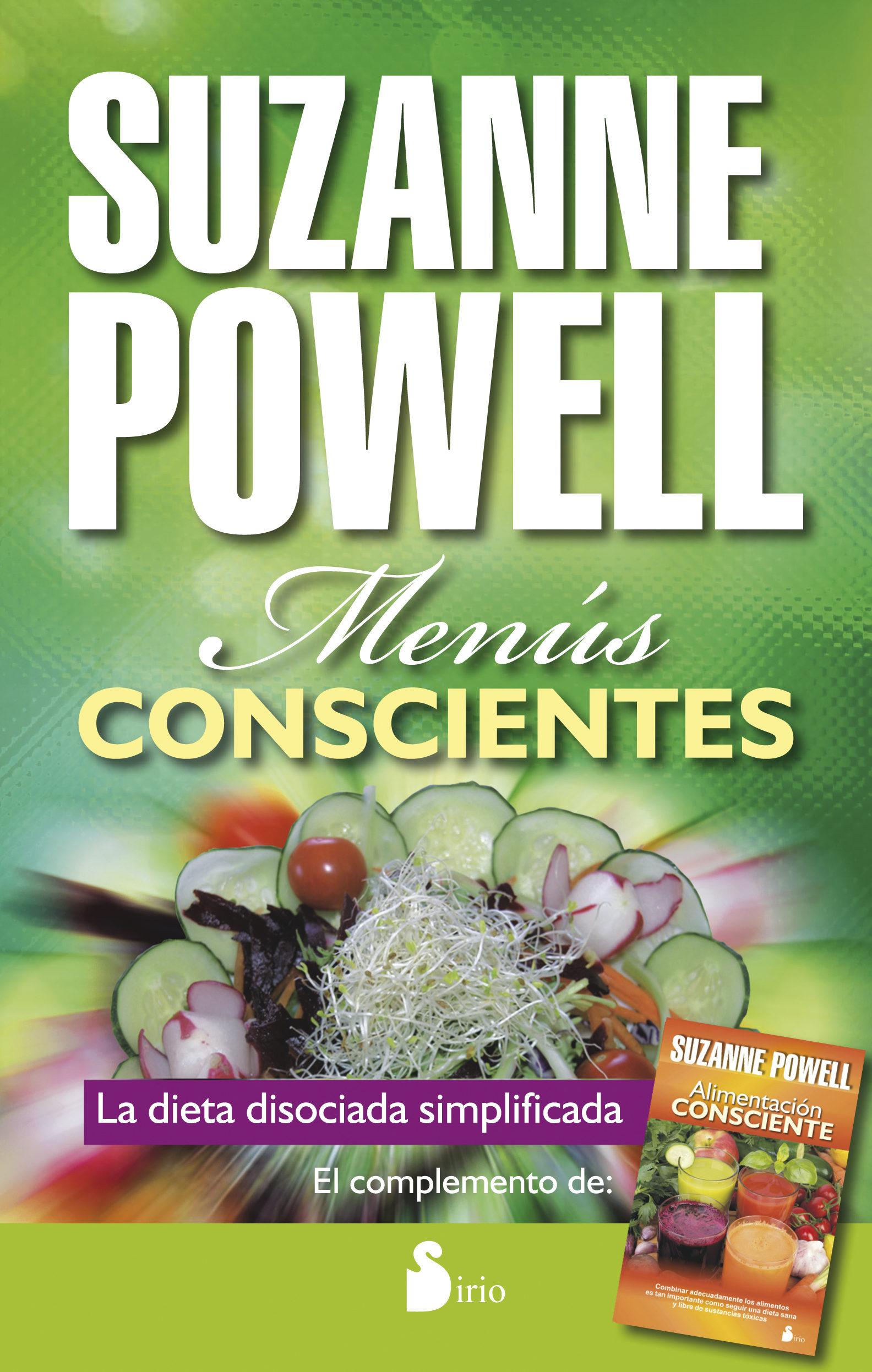Menús conscientes - Suzanne Powell - Sirio