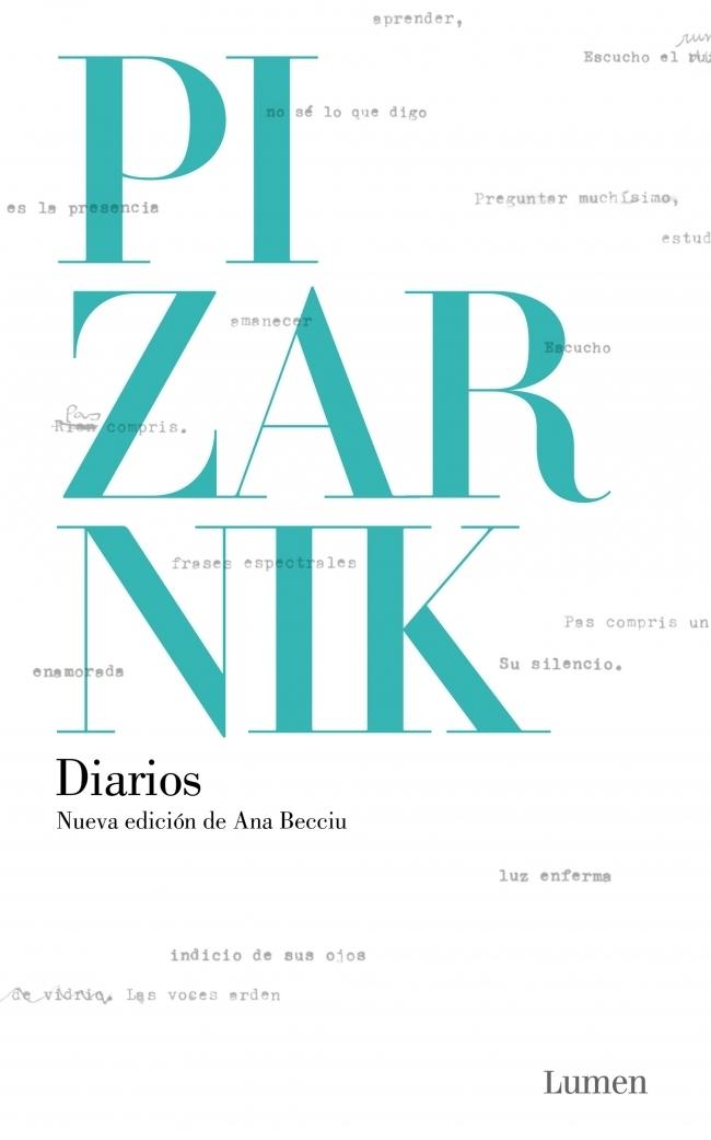 Diarios (Nueva Edición de ana Becciu) (Lumen) - Alejandra Pizarnik - Lumen