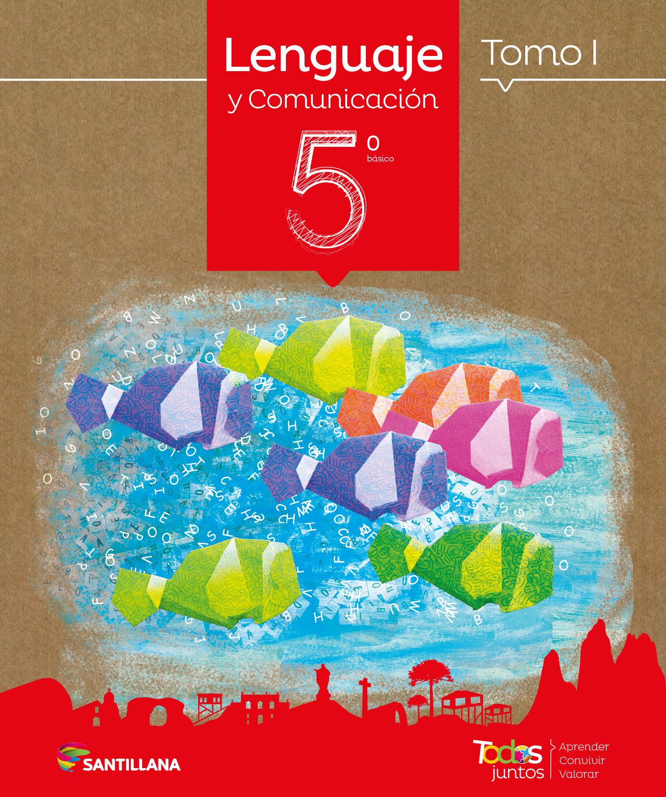 portada Set Lenguaje 5º Básico (Proyecto Todos Juntos) (Santillana)