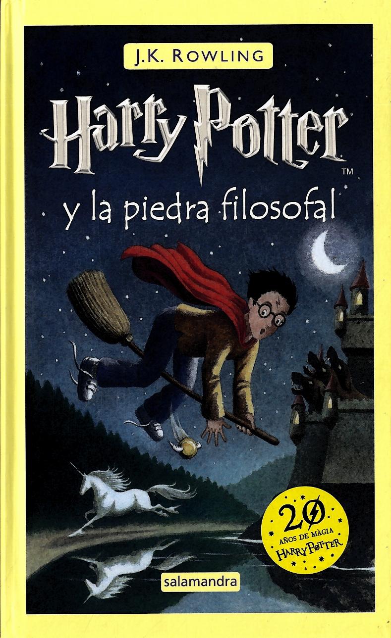 Harry Potter y la Piedra Filosofal - J.K.Rowling - Salamandra