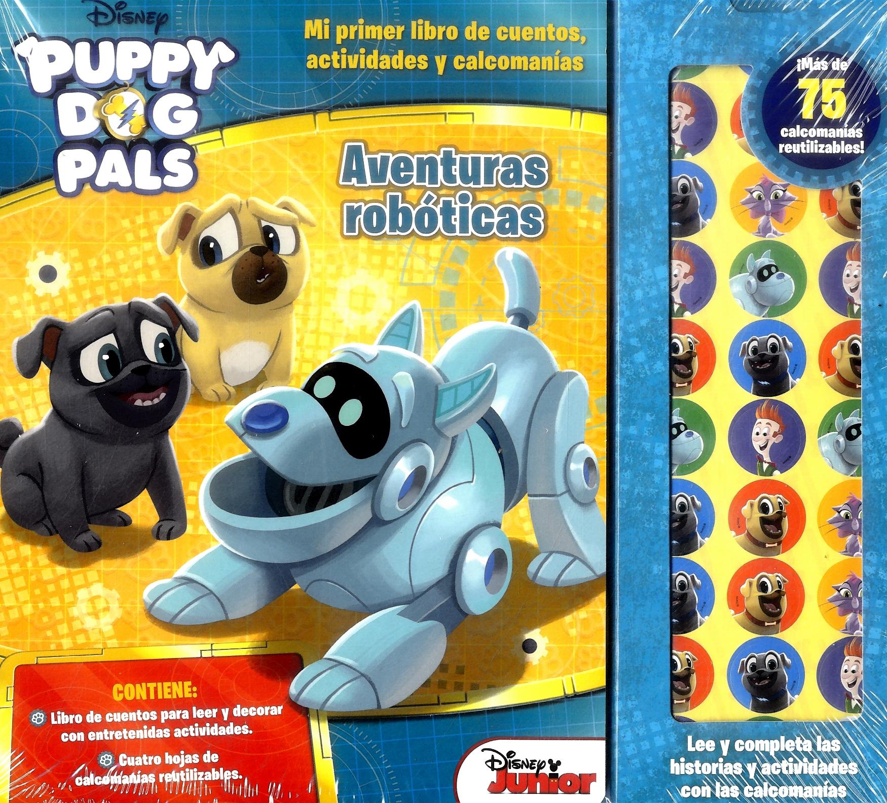 Story Stickers Puppy dog - Varios Autores - Plow Srl