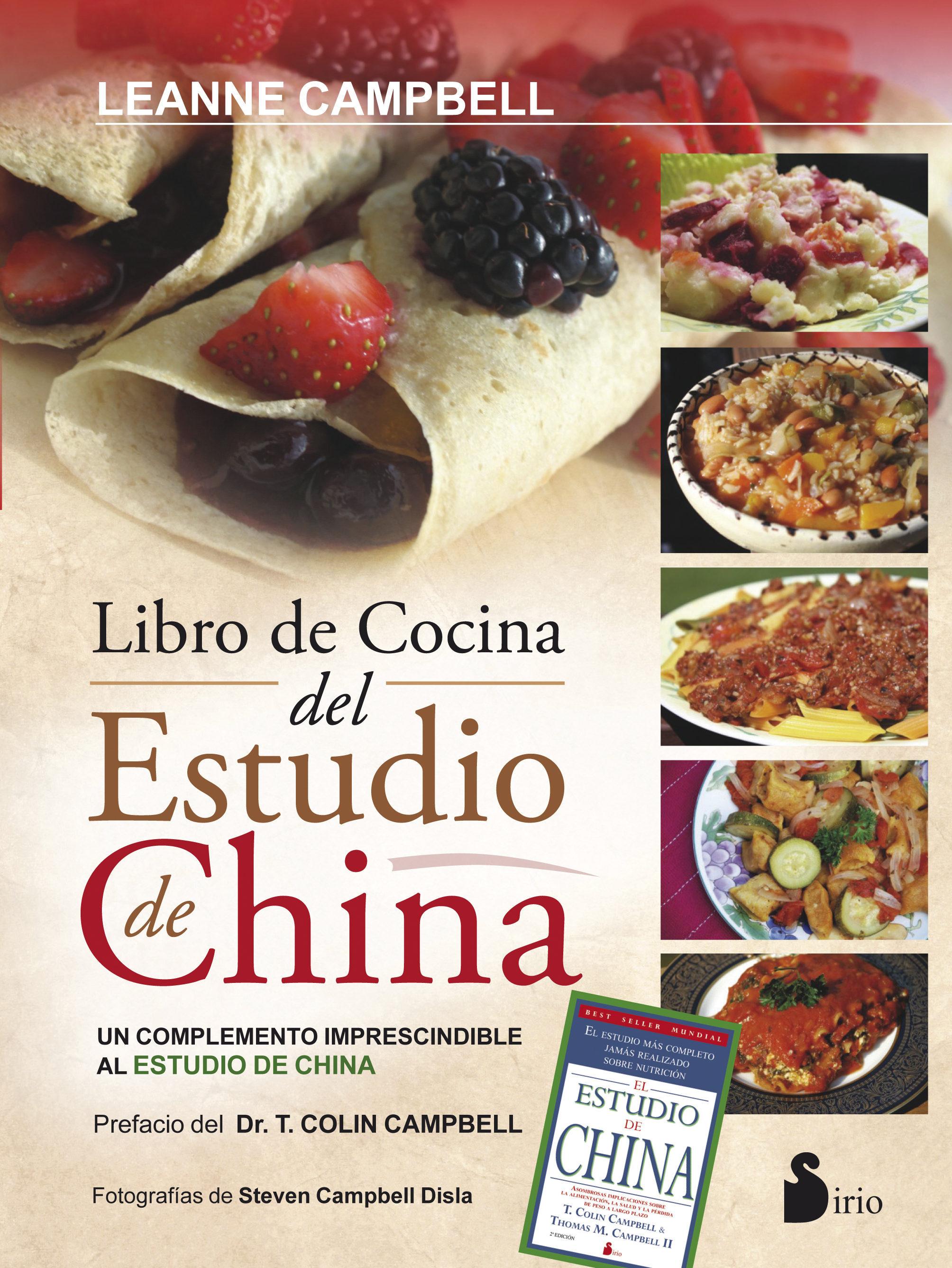 Libro De Cocina Del Estudio De China - Leanne Campbell - Sirio