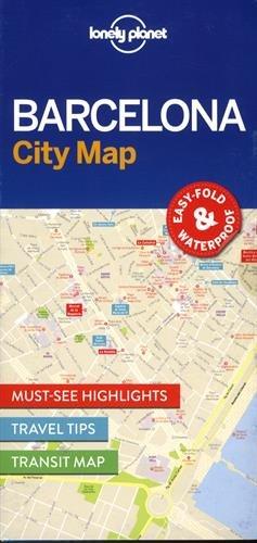 Lonely Planet Barcelona City Map (libro en Inglés) - Lonely Planet - Lonely Planet Global Limited, Ireland