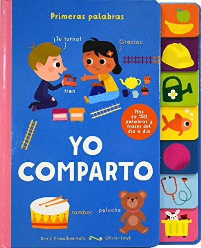 Lenguetas Primeras Palabras: Yo Comparto - PARRAGON BOOK - PARRAGON BOOK