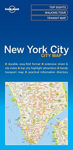 Lonely Planet new York City map (libro en inglés) - Lonely Planet - Lonely Planet
