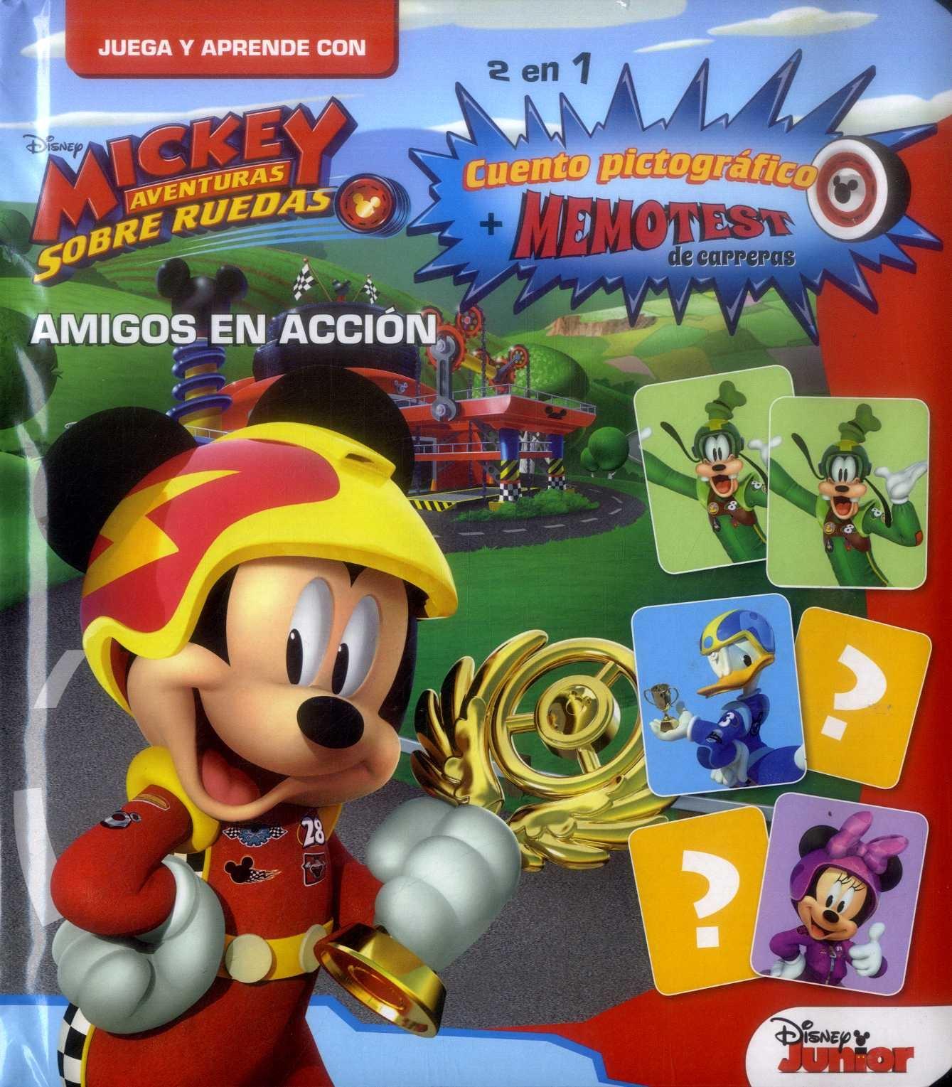 Juega y Aprende Mickey Mouse - Amigos en - Editorial Guadal S.A. - El Gato De Hojalata