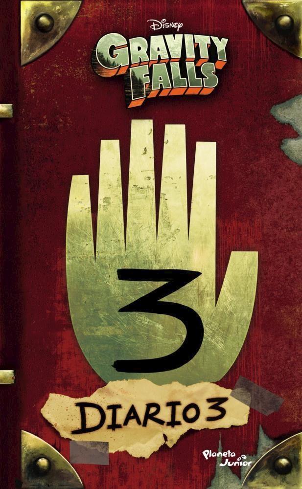 Gravity Falls. Diario 3 - Disney - Planeta